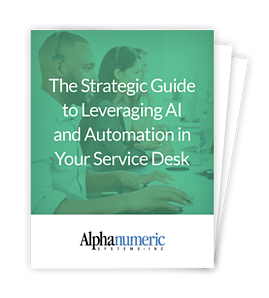 The Strategic Guide to Leveraging AI & Automation in Your Service Desk